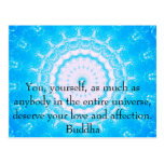 Citas budistas del espiritual de la CITA de Buda Postales