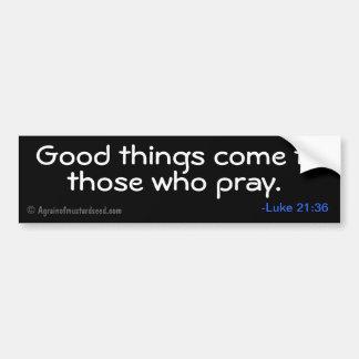 Citas cristianas etiqueta de parachoque