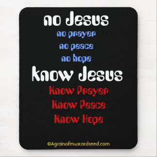 Citas cristianas tapetes de raton