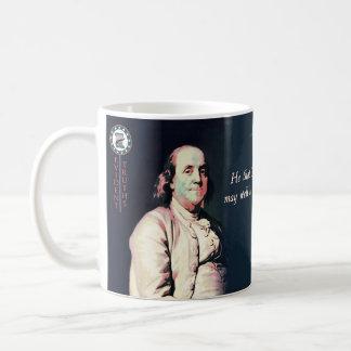 Citas de Ben Franklin - Ben 1 Taza Básica Blanca