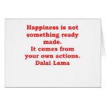 citas de Dalai Lama Felicitacion