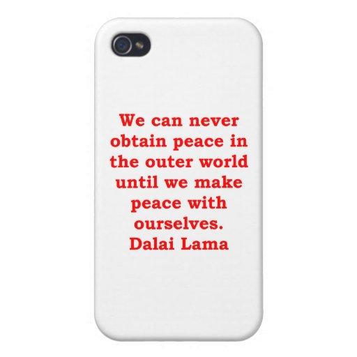 citas de Dalai Lama iPhone 4 Cobertura