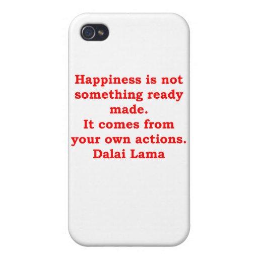 citas de Dalai Lama iPhone 4/4S Carcasa