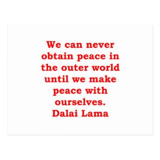 citas de Dalai Lama Postales