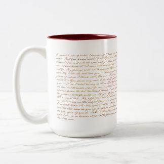 Citas de Jane Austen P&P Taza
