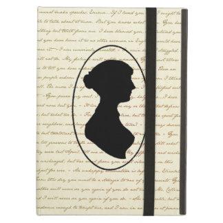 Citas de Jane Austen y cubierta del retrato