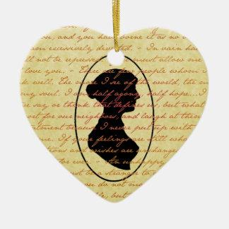 Citas de Jane Austen y día de fiesta del navidad d