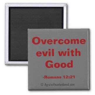 Citas de la biblia imán cuadrado