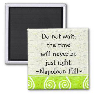 Citas de la colina de Napolean (2) - imán de motiv