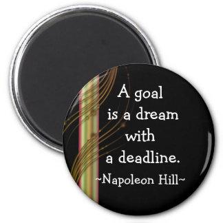 Citas de la colina de Napolean (3) - imán de