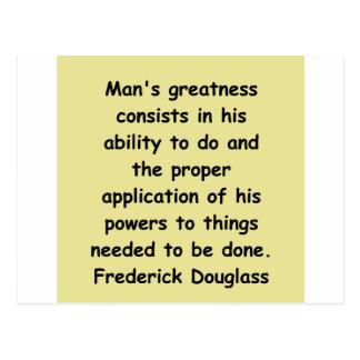 citas de los douglass del frederick tarjetas postales