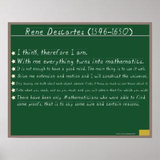 Citas de los posters de las matemáticas de Rene De