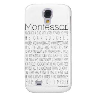 Citas de Maria Montessori Funda Para Galaxy S4