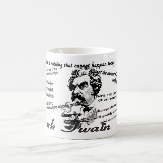 Citas de Mark Twain Taza Clásica