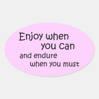 Citas de motivación de los pegatinas rosados