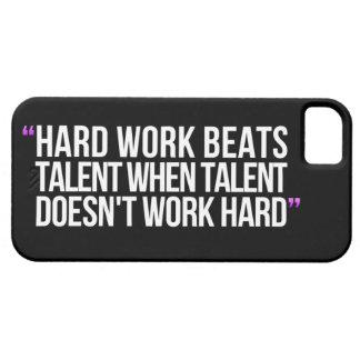 Citas de motivación funda para iPhone 5 barely there