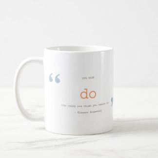 citas de motivación taza básica blanca