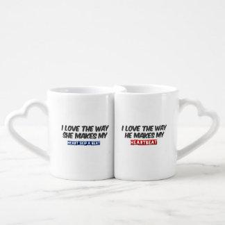 Citas del amor tazas para parejas
