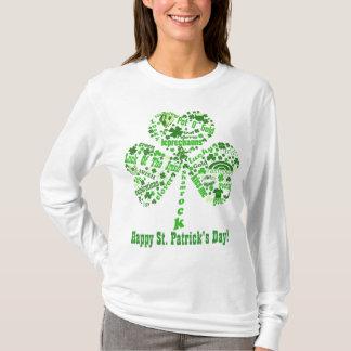 Citas del día de St Patrick feliz Playera