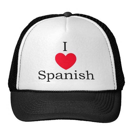 Citas del español gorros