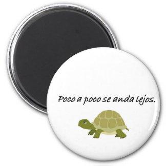 Citas del español imán redondo 5 cm