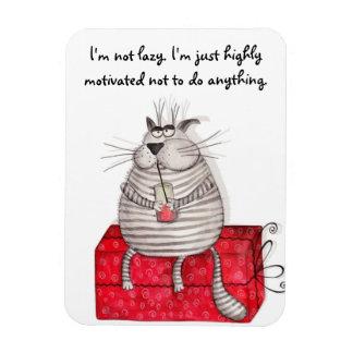 Citas divertidas de la oficina del imán del gato