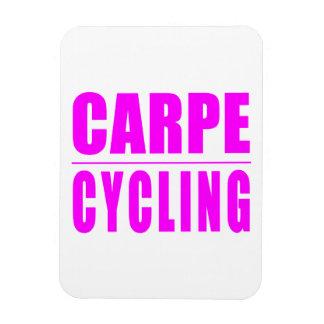 Citas divertidas de los ciclistas del chica: Ciclo Imán Flexible