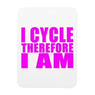Citas divertidas de los ciclistas del chica: Me co Imán