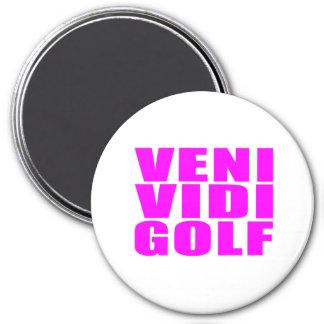 Citas divertidas de los golfistas del chica: Golf  Iman Para Frigorífico