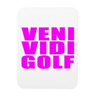 Citas divertidas de los golfistas del chica: Golf  Imán