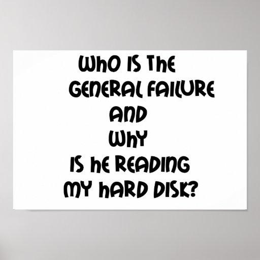 Citas divertidas que es el fracaso general posters