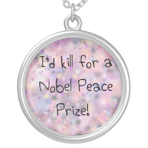 Citas divertidas que mataría para un Premio Nobel  Collares Personalizados