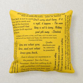 Citas en la almohada del amor - oro