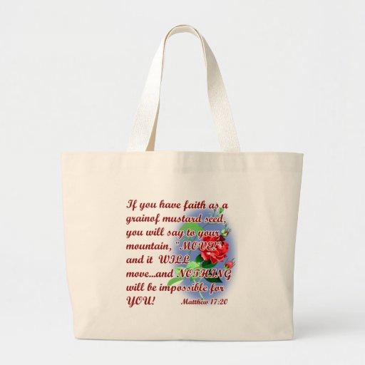 Citas inspiradas de la biblia bolsas