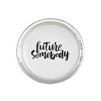 Citas inspiradas: Futuro alguien Anillos Con Foto