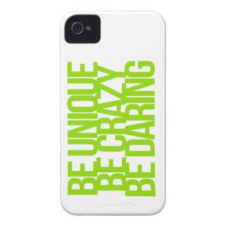 Citas inspiradas y de motivación iPhone 4 Case-Mate cobertura