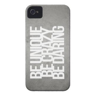 Citas inspiradas y de motivación iPhone 4 Case-Mate protector