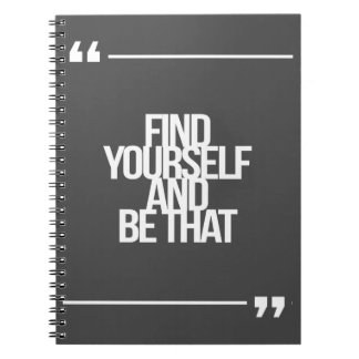 Citas inspiradas y de motivación cuadernos