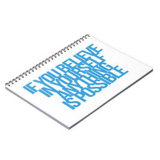 Citas inspiradas y de motivación libros de apuntes