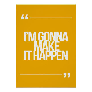 Citas inspiradas y de motivación póster