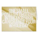 Citas inspiradas y de motivación tarjeta