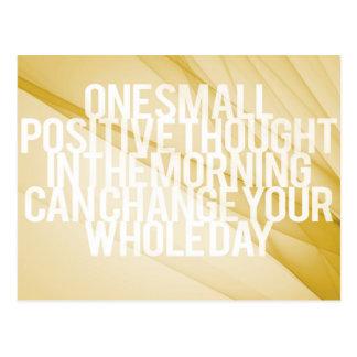 Citas inspiradas y de motivación tarjeta postal