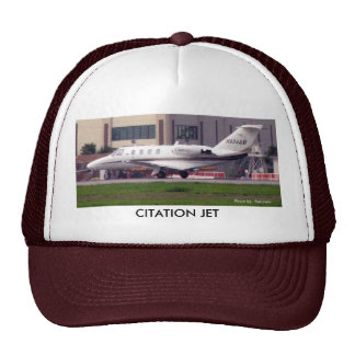 Citation Jet Departing VNY, CITATION JET Trucker Hat
