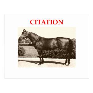 citation postcard