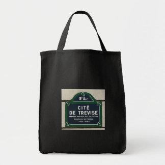 Cite de Trevise - Plaque rue Tote Bags