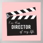 Cite el la vida, director Action Board, pizarra Póster