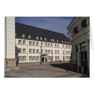 Cité judiciaire, Luxembourg Card