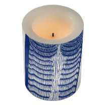 Cite Modern Owl In Blue Flameless Candle