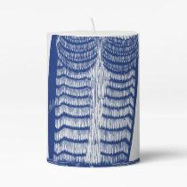 Cite Modern Owl In Blue Pillar Candle