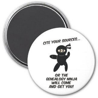 Cite sus fuentes Ninja Iman